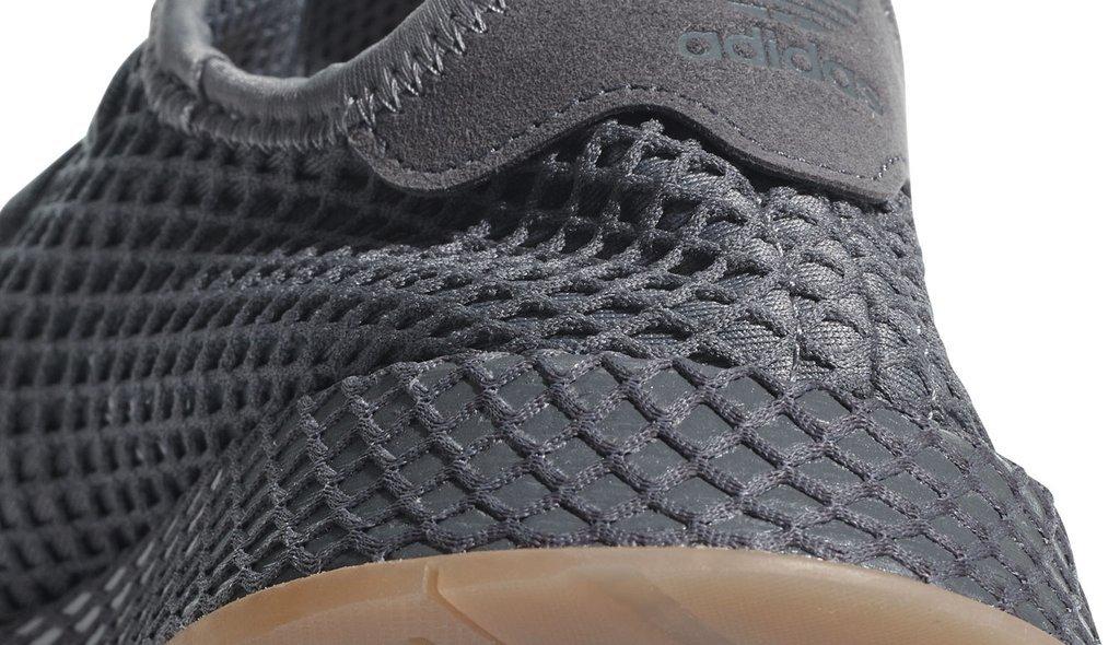 Buty Męskie Adidas Szare Deerupt Runner CQ2627