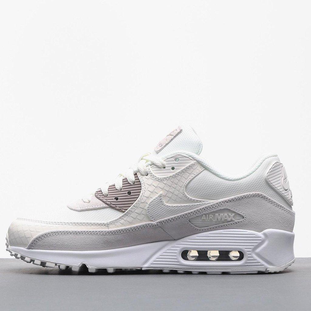 Buty Nike Air Max 90 Premium Skóra White   On Obuwie